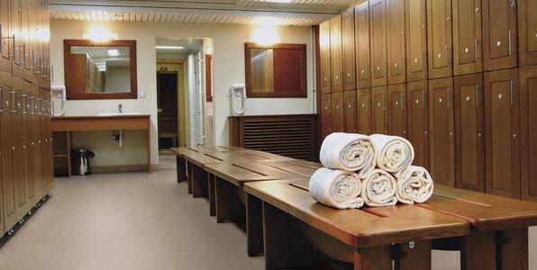 superficie higiénica vestuarios